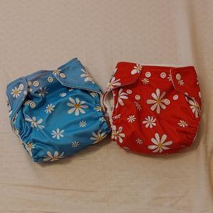 Cute fuzzibunz cloth diapers